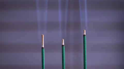Buddhist incense image Live Action