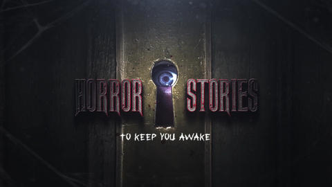 Horror Stories Intro After Effects Template