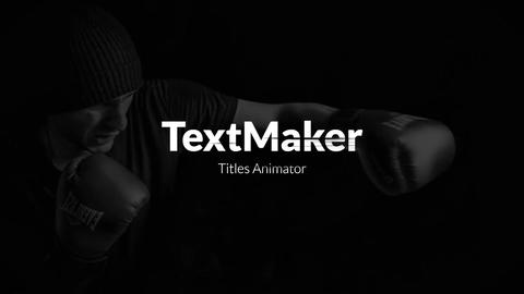 Titles Animator - Grunge Brush // Final Cut Pro Apple Motion Template