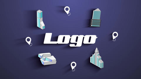 Real Estate Architecture Logo After Effects Template