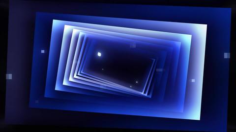 Cinematic Gradient Squares Logo Apple Motion Template