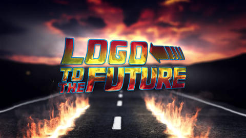 Logo to the Future After Effects Template