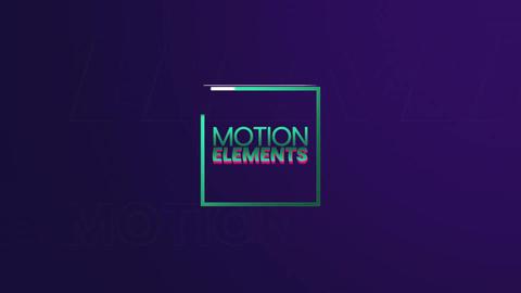 Minimal Slideshow Apple Motion Template