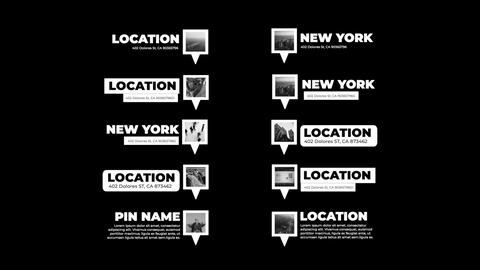 Location Titles Apple Motion Template