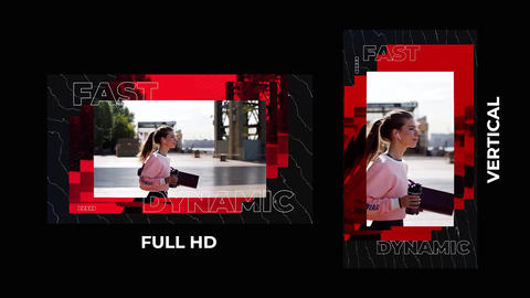 Fast Dynamic After Effects Template