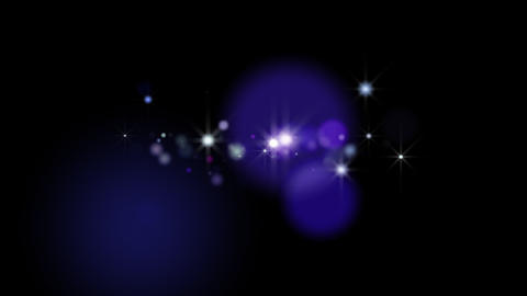 Light blinks ten times purple-blue with alpha channel (QT PNG) Animation