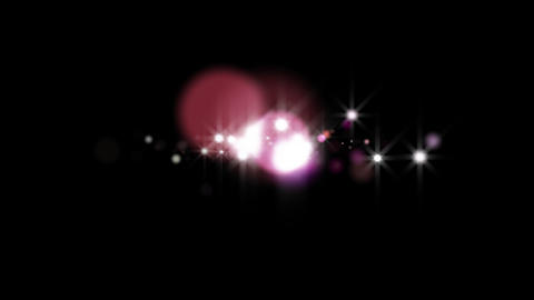Light blinks ten times purple-red with alpha channel (QT PNG) Animation
