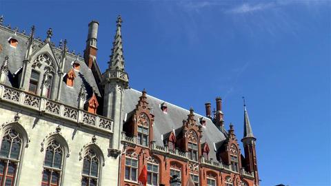 Medieval architectural details, Bruges Live Action