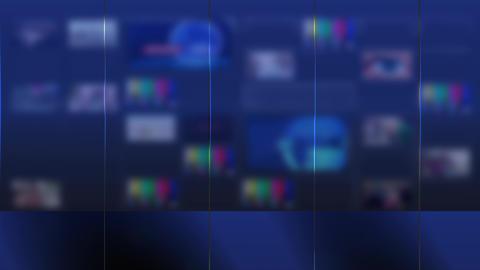 TV wall Looped Video used news studio background Loop Animation