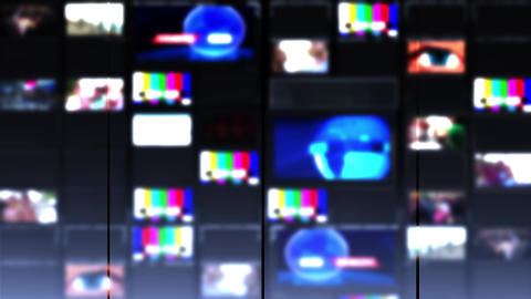 TV wall Looped Video used news studio background Loop G1064 Animation
