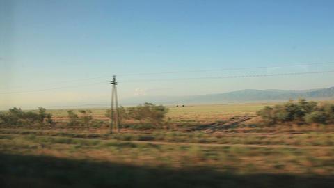 Kazakhstan Steppe Sunrise Footage