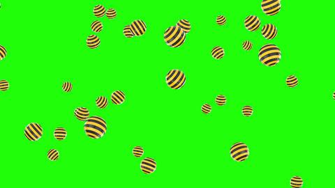3d golden hearts rising green screen gold hearts love rising love green screen love 3d Animation