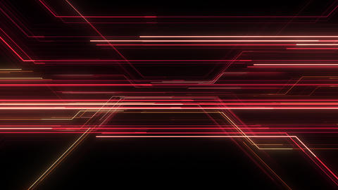 Digital Circuit Network Technology internet data space Background a Red1 Animation