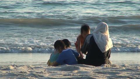 Malaysian family Footage