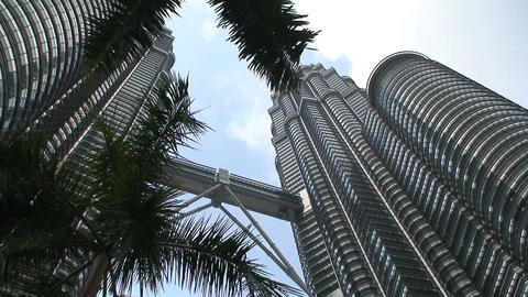 Petronas Towers Stock Video Footage