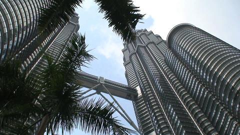 Petronas Towers Stock Video Footage
