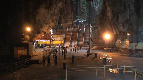 Inside the Batu Caves Footage