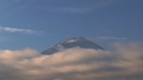 Mount Fuji closeup Footage