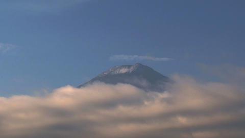 Mount Fuji closeup Stock Video Footage