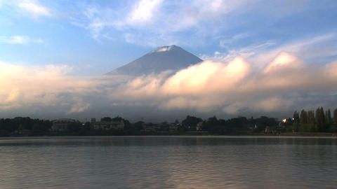 Mount Fuji timelapse Stock Video Footage