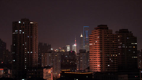 City view shanghai Footage