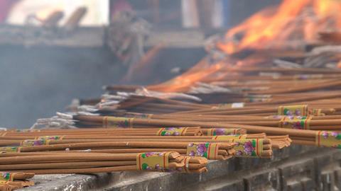 Incense at the Jing'an Temple, Live Action