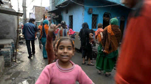 India children Stock Video Footage