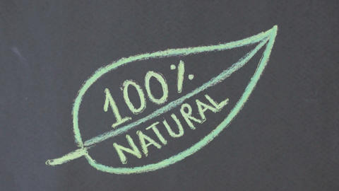 100 percent natural Stock Video Footage