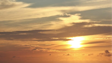 Sunset timelapse 06 Stock Video Footage