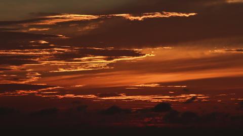 Sunset timelapse 06 Stock Video Footage