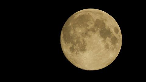 Moon big Footage