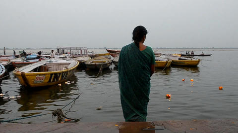 Indian woman Stock Video Footage