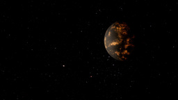 Coruscant Planet stock footage