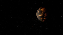 Coruscant Planet Stock Video Footage