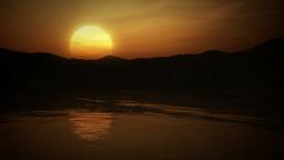 Epic Sun rise Stock Video Footage