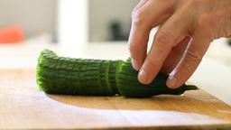 Cucumber Stock Video Footage