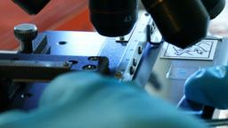 Microscope Stock Video Footage