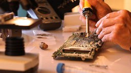 Soldering Stock Video Footage