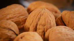 Walnuts  Loop stock footage