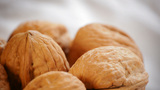 Walnuts Rotating Loop stock footage