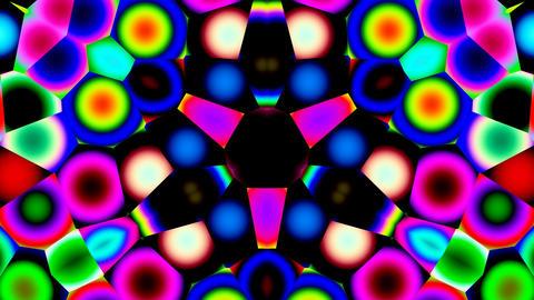 Bright kaleidoscope Stock Video Footage