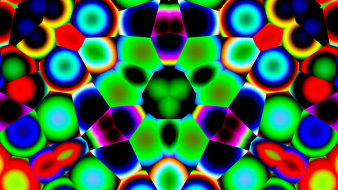 Bright kaleidoscope Stock Video Footage