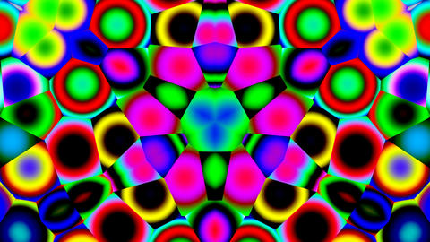 Bright kaleidoscope Animation