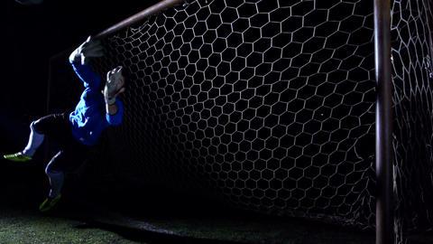 Goalkeeper Stock Video Footage
