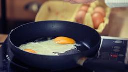 Scrambled eggs Stock Video Footage