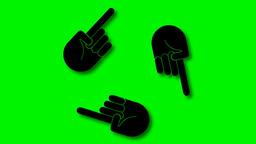 THREE HANDS Animation
