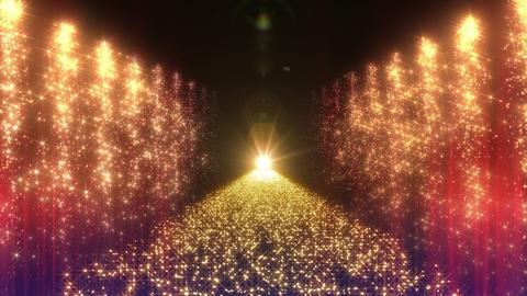 Light Water Fall 2 2e Yr HD CG動画素材