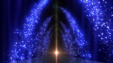 Light Water Fall 7 2d B HD Stock Video Footage