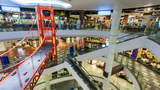 1080p - Shopping Mall Timelapse stock footage