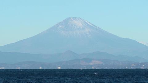 Japanese landscape、Sea and Mt. Fuji Live Action